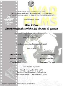 presentazione war films jpeg