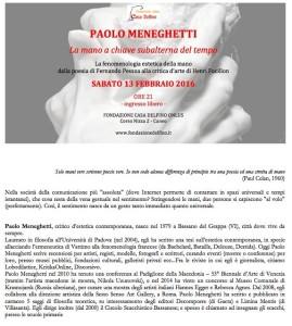 Locandina per la Conferenza a Cuneo
